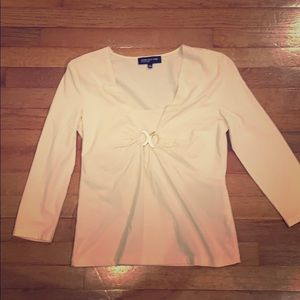 Cream top new without tags
